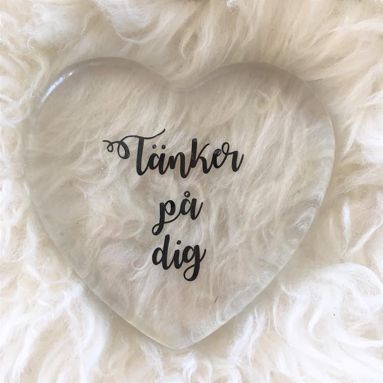 glashjärta, kärlek, världens bästa, mormor, farmor, morfar, farfar, mamma, pappa, tänker på dig, jag älskar dig, familj, inredning, heminredning, interior, interiör, ruff & stuff, ruff o stuff, ruffostuff