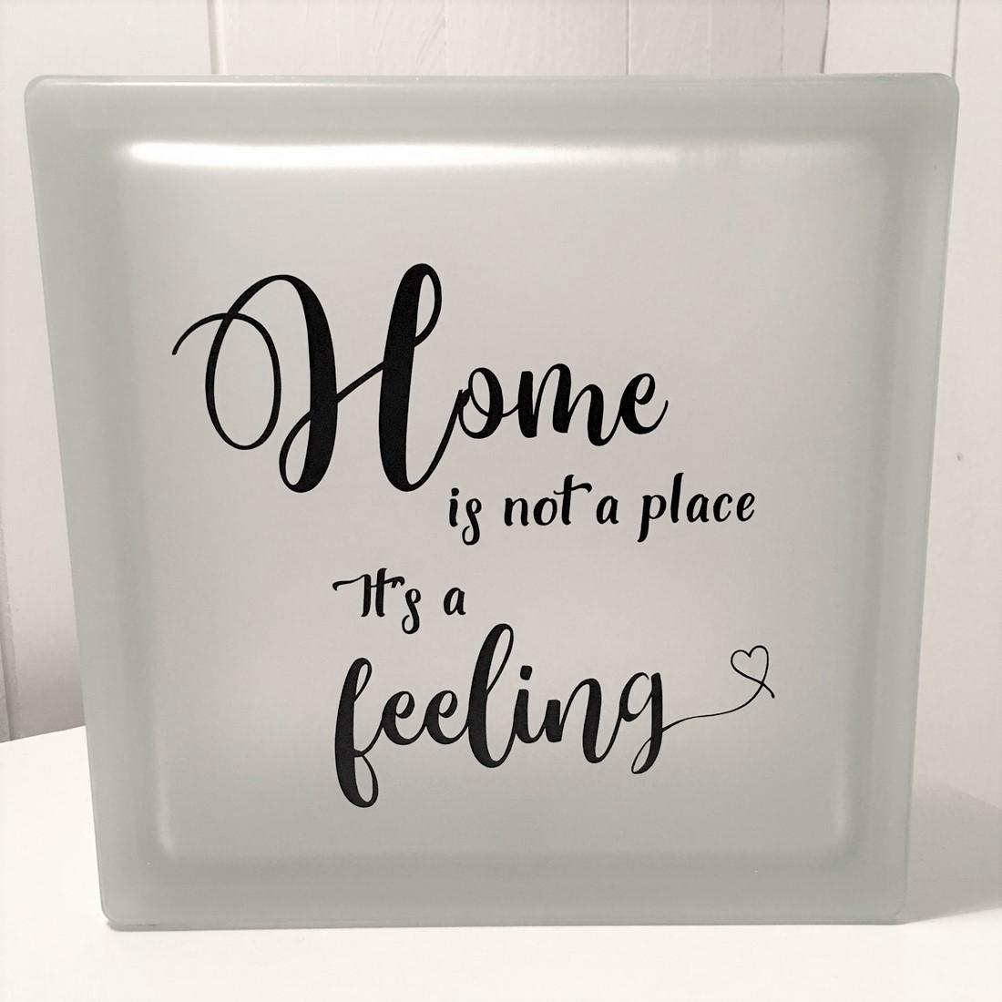 glasblock, glascement, glaskub, home, hem, familj, citat, gåva, present, barn, inredning, interior, interiör, heminredning, barnrum, ruff & stuff, ruff o stuff, ruffostuff
