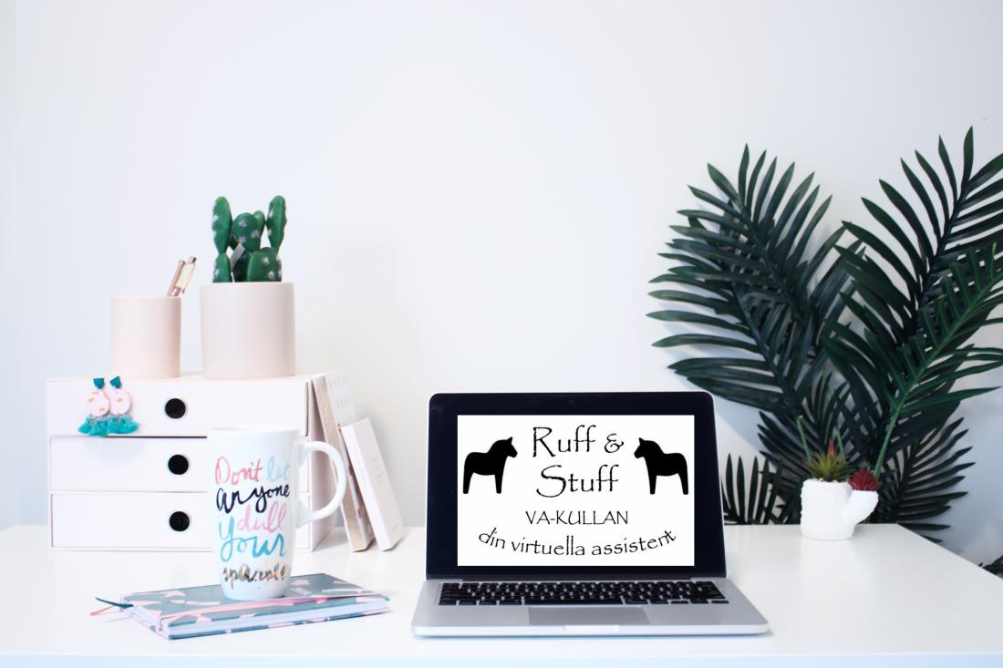 Ruff & Stuff, va-kullan, din virtuella assistentkulla, virtuell assistent, distans, distansjobb