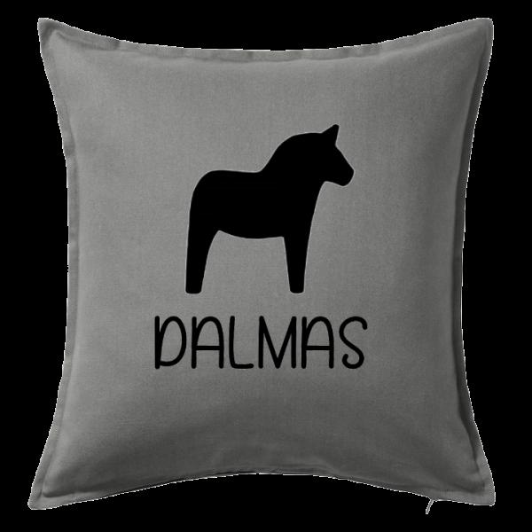 Kuddfodral Dalmas, dop, födelsedag, present, gåva, dopgåva, doppresent, textiltryck, htv, tryck, textil, kudde, kläder, vinyl, dekal, heminredning, inredning, interiör, interior, ruff & stuff, ruff o stuff, ruffostuff